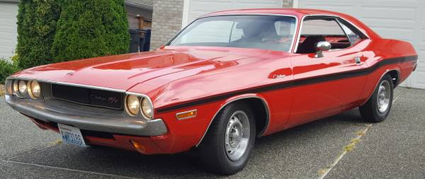 Clean 6 Cyl 1970 Challenger On Craigslist For Sale Not