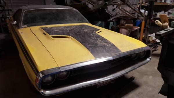 "71 RT Challenger For Sale Tulsa Craigslist ""Looks like a ..."