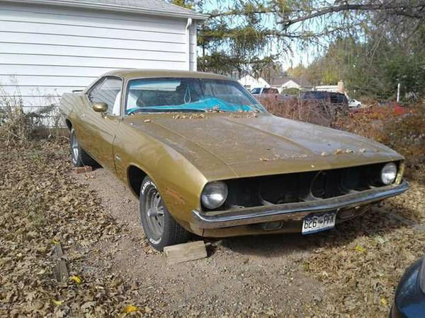 70 Barracuda For Sale (not mine) Denver Craigslist | For E ...