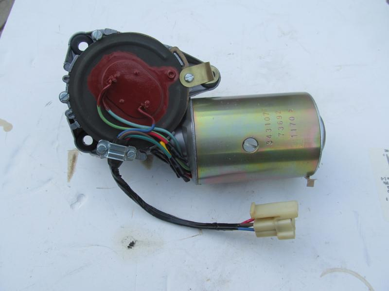 3 Speed Wiper Motor Restoration For E Bodies Only Mopar