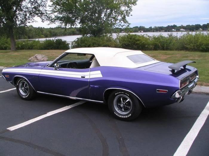 FOR SALE 1971 Dodge Challenger Convertible, Plum Crazy ...