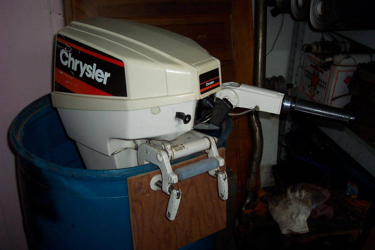 1981 15 hp chrysler outboard for e bodies only mopar forum for Outboard motors for sale nz