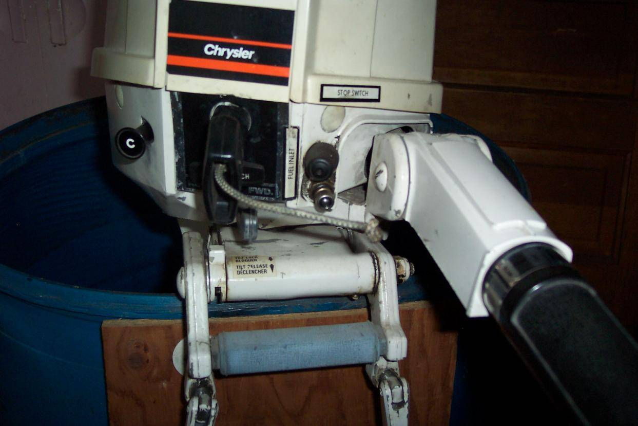 1981 15 hp chrysler outboard for e bodies only mopar forum for 10 hp outboard jet motor