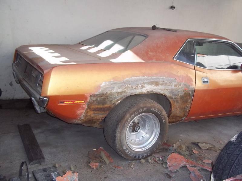 1970 Cuda 340 auto. Project car. 440 correct 4 speed.LA build posi ...