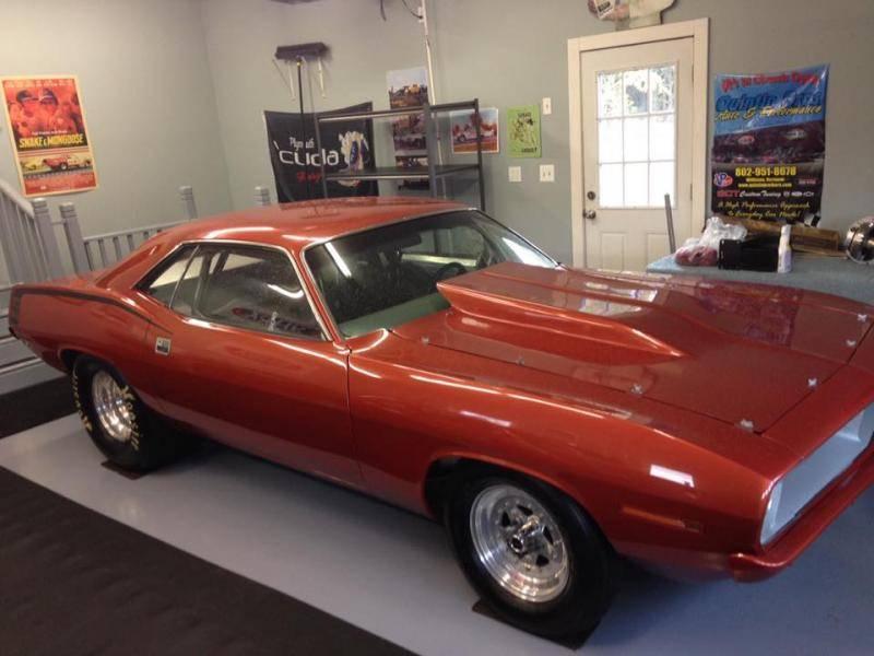 2015 Dodge Barracuda >> 1970-1974 Barracuda fiberglass cowl hood   For E Bodies ...