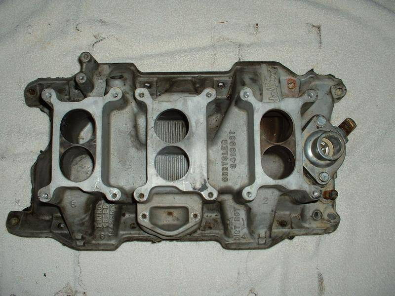 Chrysler For Sale >> SOLD - 1970 Factory 340 T/A Intake Manifold / Six Pack ...