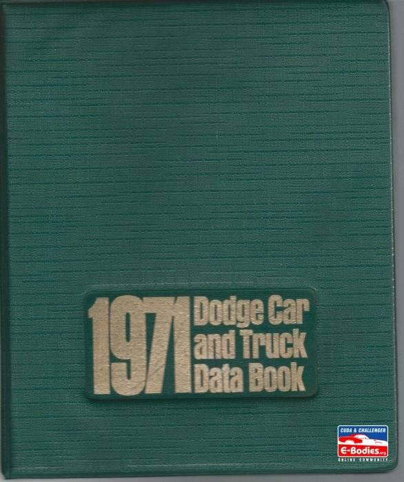 1971 Dodge Data Cover1.jpg