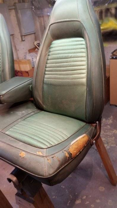 For Sale 1970 Cuda Challenger Front Bench Seat 450