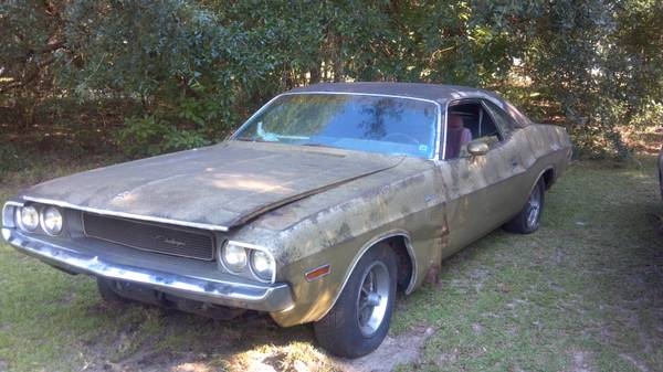 1970 Dodge Challenger Project For Sale For E Bodies Only