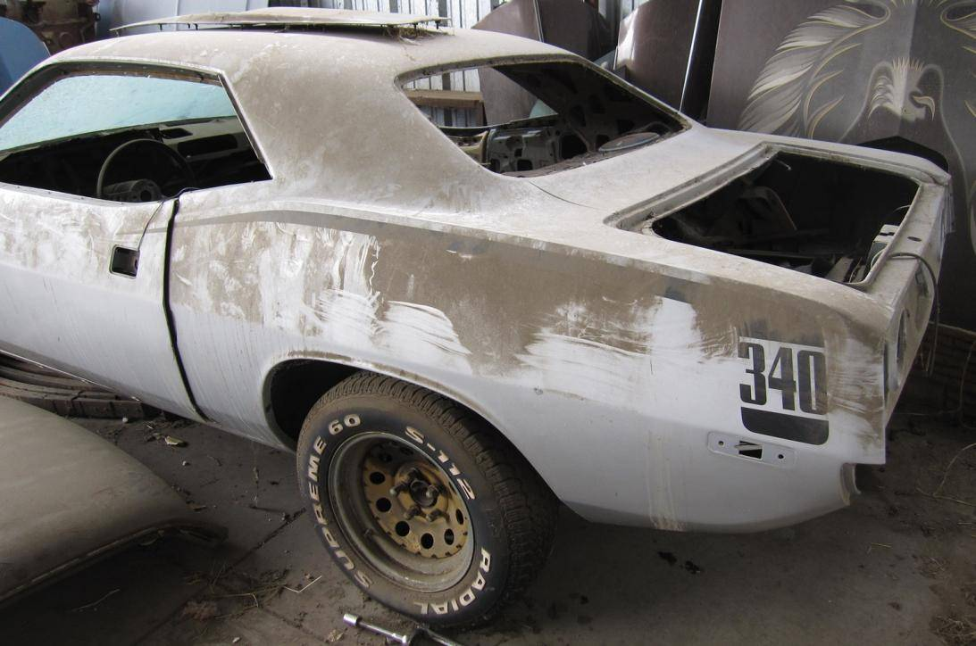 1972 Plymouth Cuda Body For Sale For E Bodies Only Mopar