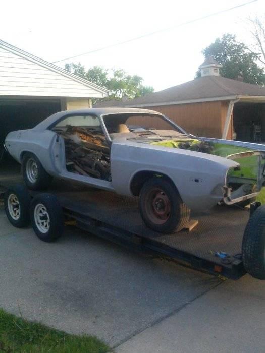 73 Challenger Project For Sale Detroit