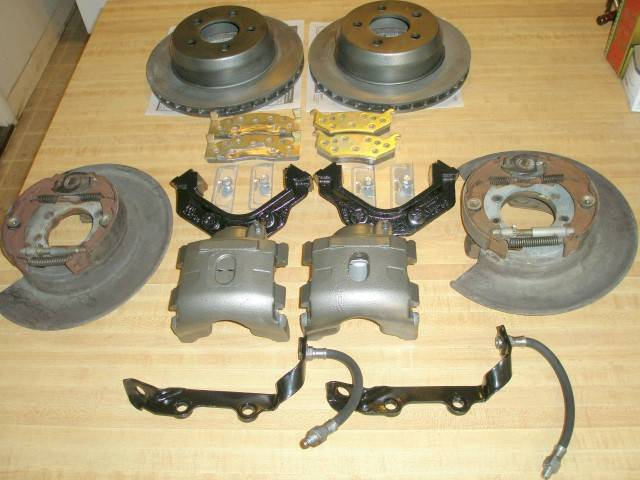 """FOR SALE - REBUILT Factory """"REAR"""" Disc Brakes From A 1975 Chrysler Imperial 9 1/4"""" Axle 