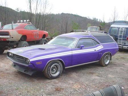 71 Challenger R T Station Wagon For E Bodies Only Mopar