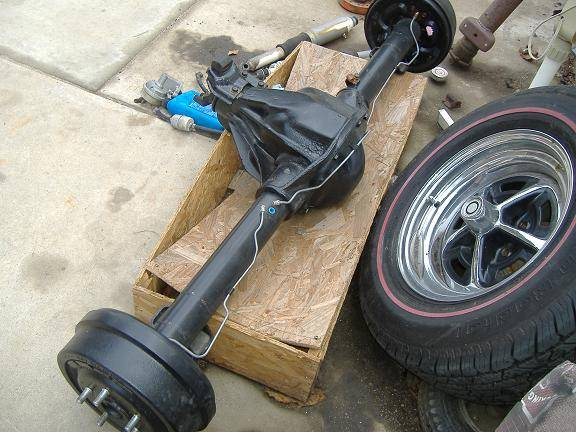 Car Body Parts >> dana 60 completely restored | For E Bodies Only Mopar Forum