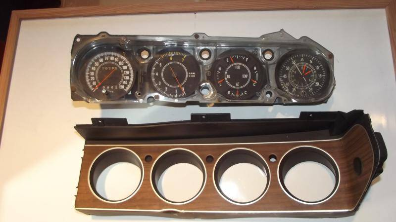 Cuda, Challenger Rallye gauge cluster! | For E Bodies Only ...