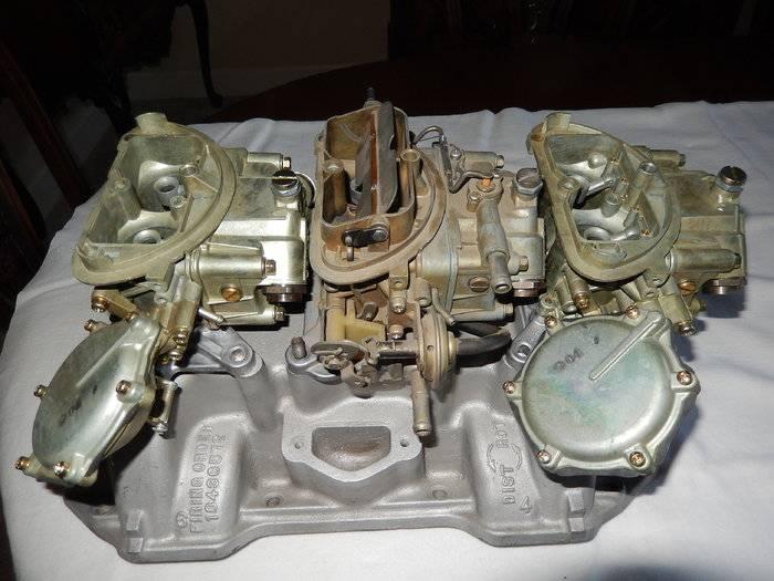 SOLD - Mopar Six Pack Carburetors / Vintage NOT REPOPS ...