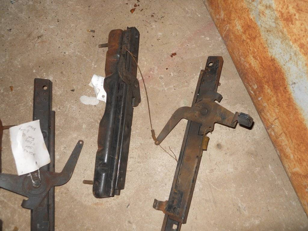 Sold 1970 71 Cuda Challenger Bucket Seat Tracks For E