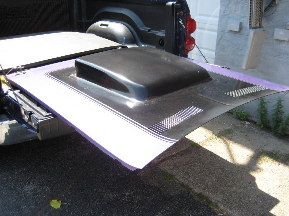1970 Cuda 6-Pack hood | For E Bodies Only Mopar Forum