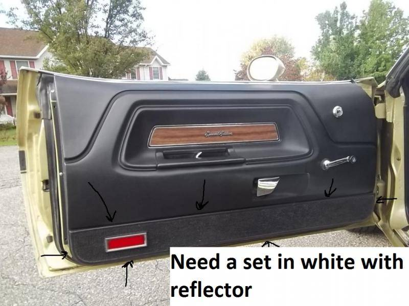 Looking For 1970 Challenger Se Carpet And Reflexer For