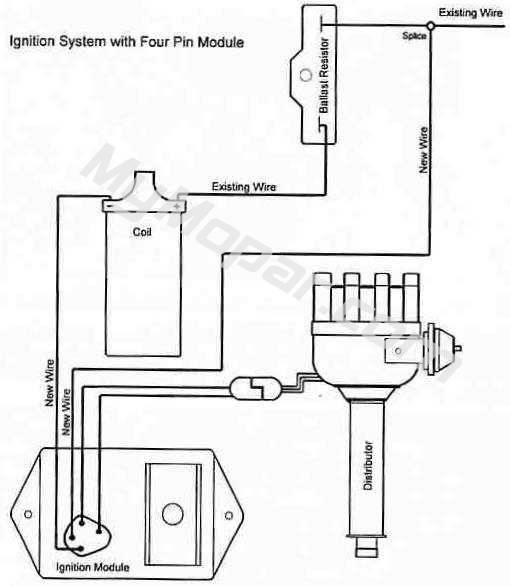 wiring diagram for electronic distributor wiring diagram mopar ignition wiring diagram diagrams