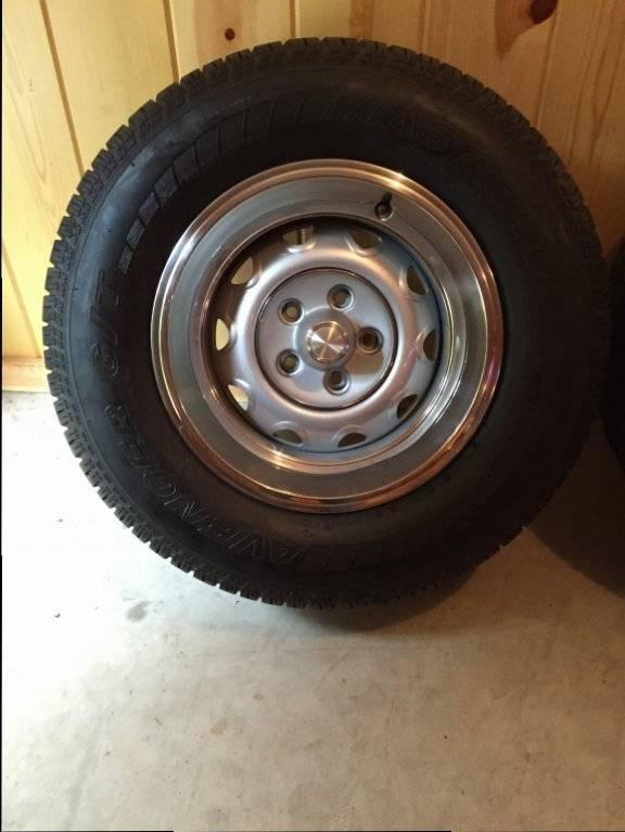 Sold 15 Quot Rallye Wheels Tires For E Bodies Only Mopar Forum