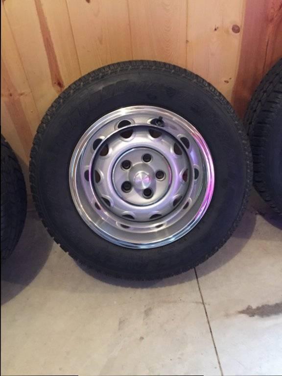 "2014 Dodge Challenger For Sale >> SOLD - 15"" Rallye wheels/tires   For E Bodies Only Mopar Forum"
