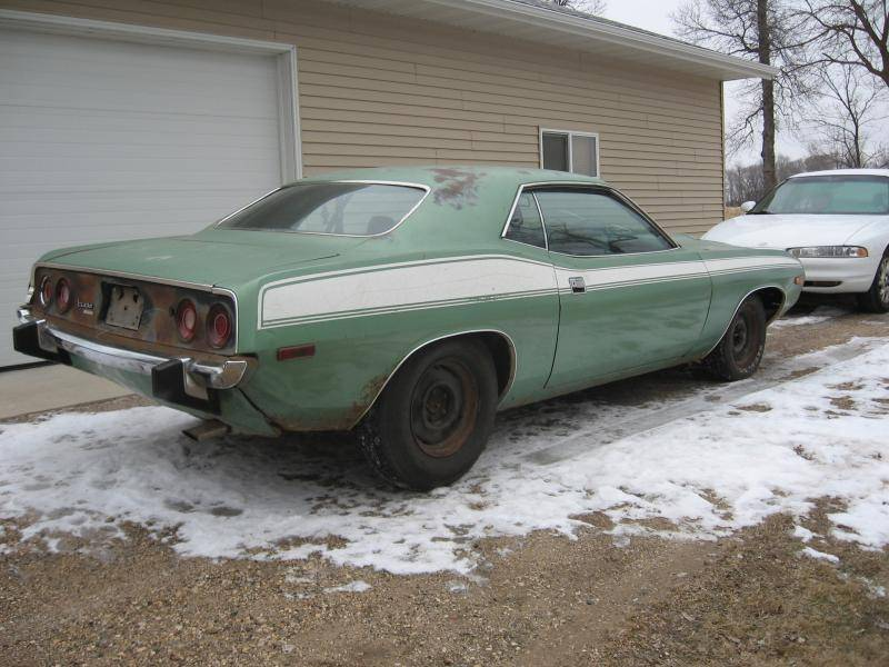Frosty Green Paint Dodge