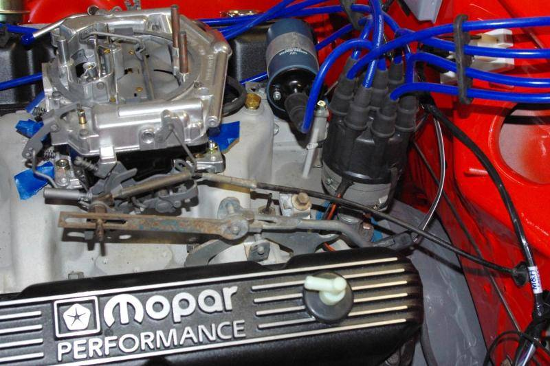 Tq Carb And Kickdown Linkage For E Bodies Only Mopar Forum