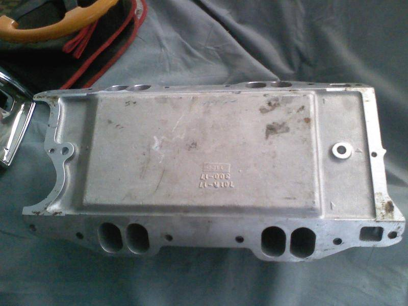SOLD - Holley 300-17 W2 Strip Dominator intake | For E