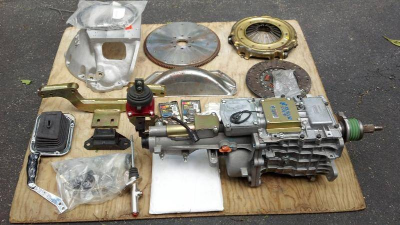 Sold Unused Tremec 5 Speed Conversion Kit For E Bodies