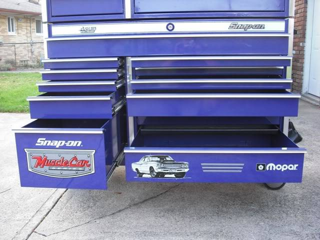 Mopar Snap On Tool Box | For E Bodies Only Mopar Forum