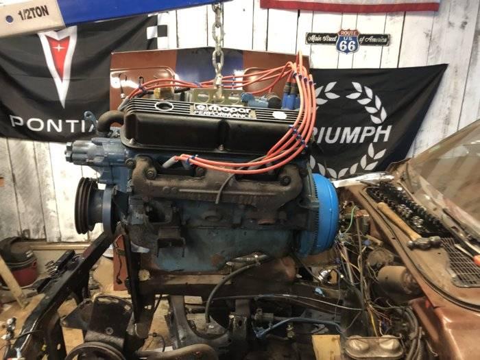 Pull old motor.JPG