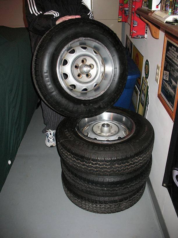 Mopar Rally Wheels 14 Inch Small Bolt Pattern For E