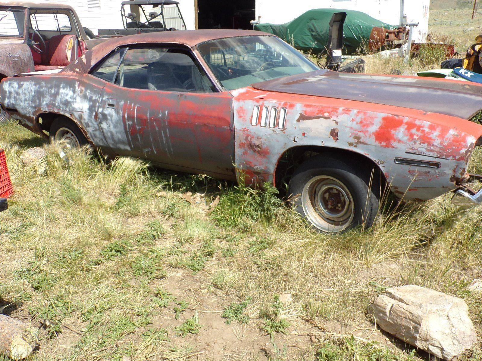 71 Cuda 340 w shaker project sold- Price Point Out of Sight! | For E
