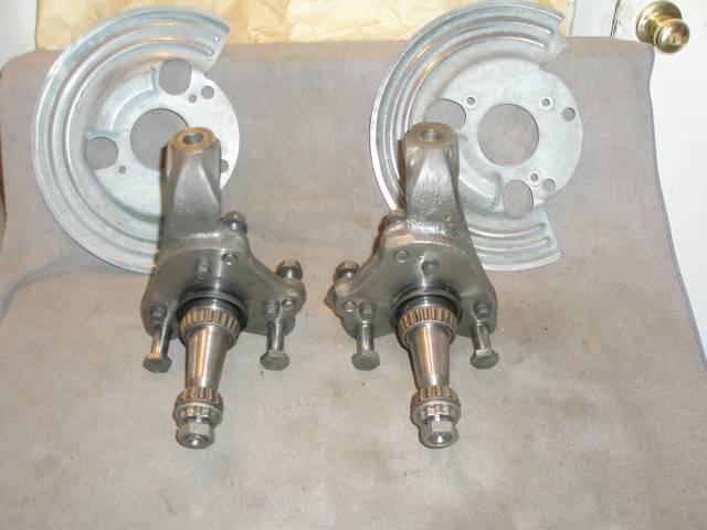 Used Dodge Dart >> SOLD - DISC Brake Spindles & Dust Shields 73-74 E Body 73 ...
