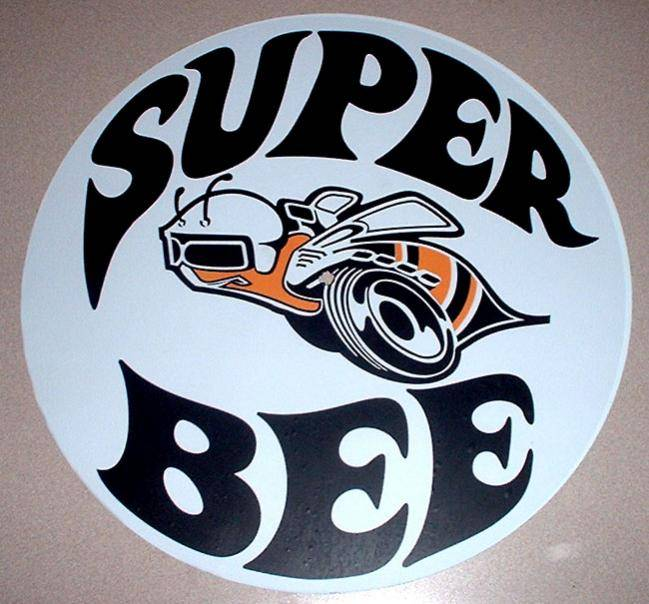 Super Bee Promo Disc Logo Cuda Logo And Wheel Hardware