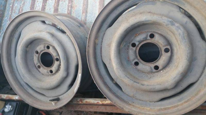 15 x 5 1/2 steel wheels mopar   For E Bodies Only Mopar Forum
